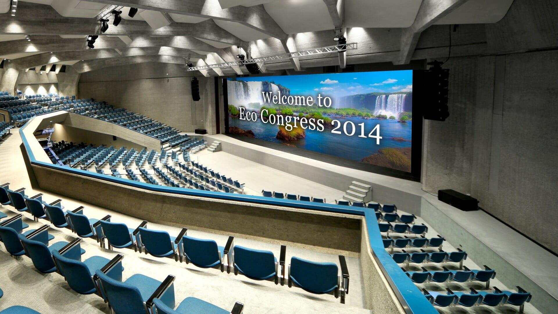 ConferenceBigLEDscreen