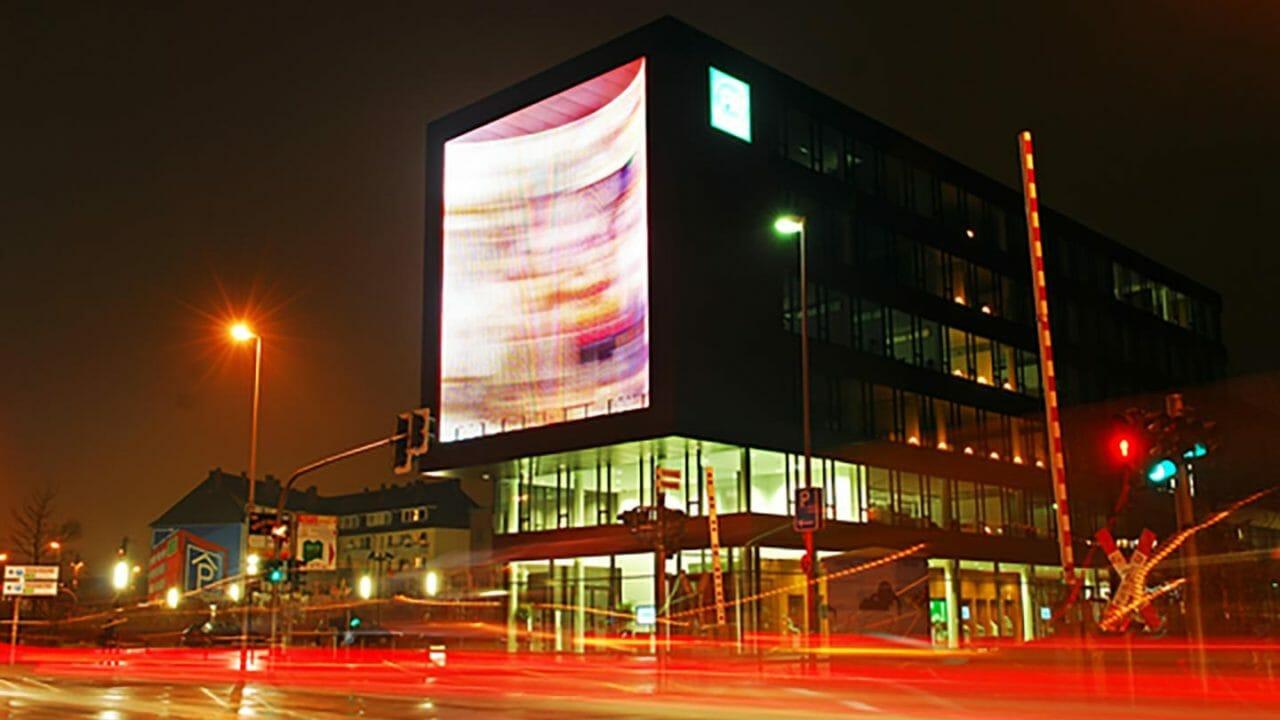 LED Arkitektur bygningsfacade