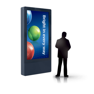 WallSign 75″ Portrait FHD LCD-O